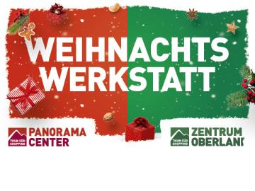 Weihnachtswerkstatt in Thun Süd